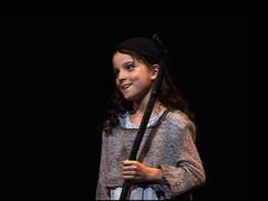 Lille Cosette i Les Miserables på Den Nationale Scene i 2008