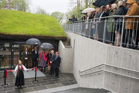From the reopening of Troldhaugen in 2015 (Edvard Grieg's home)