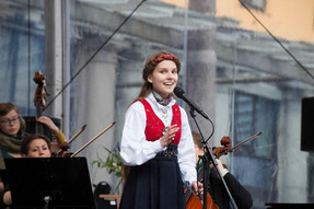 From the openeing of Bergen International Festival in 2015 together with Ensemble Allegria