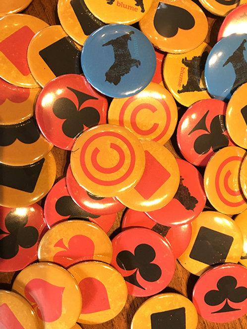 Blume Badges x 3
