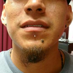 piercing under lip