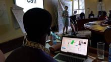 KÆMPE OPLEVELSE AT FACILITERE WORKSHOP I KENYA