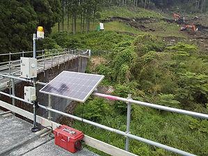バッテリーECO電源 トルエコ 納入実績-傾斜計
