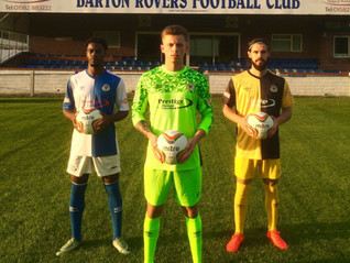 New Barton Rovers Kit 2017/18