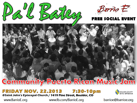 Past Events | Barrio E' fosters cultural diversity in the