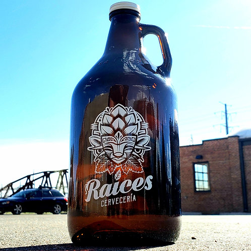 Raices Branded Growler