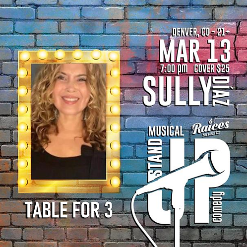 Table for 3 - Comedy Night