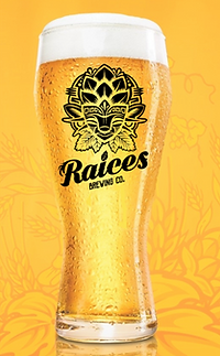 Latina Pale Ameican Belgo Ale Raices Brewing Compay