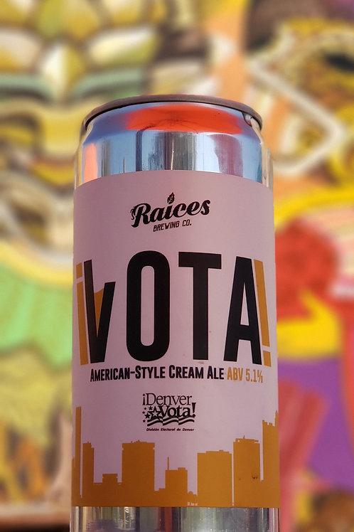 ¡VOTA! Cream Ale