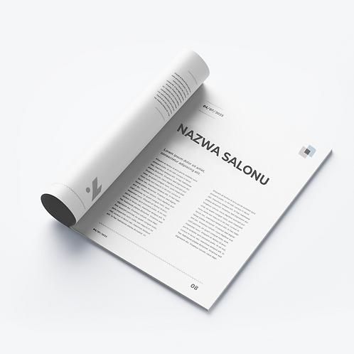Katalog A4 8 STRON - 100szt.
