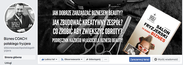 biznes coach polskiego fryzjera rezerwacja