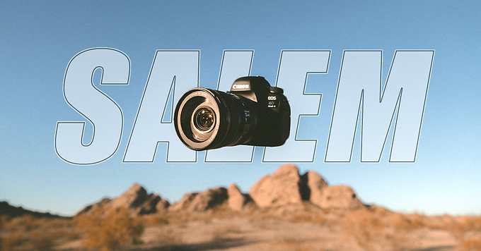 Introduction To Your DSLR (Salem)