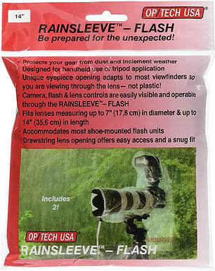 "Optech RAINSLEEVE Flash (14"")"