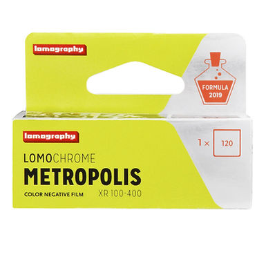 Lomography Metropolis 100-400 (120)