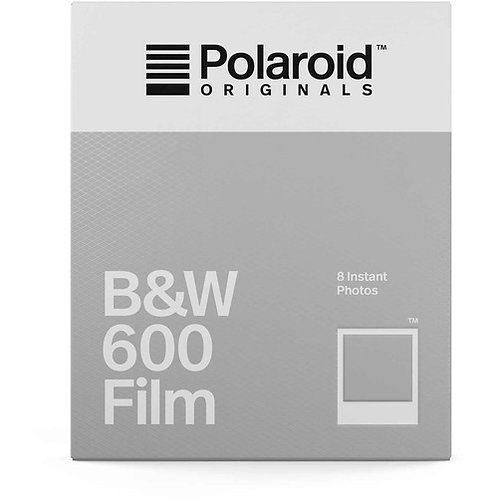 Polaroid Originals B/W 600 Instant Film (8 Exposures)