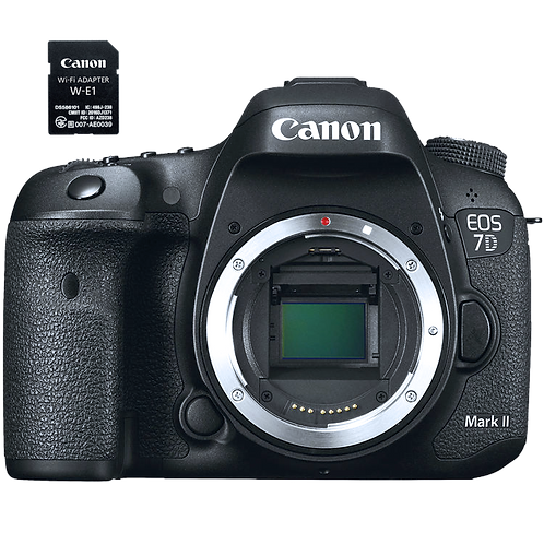 Canon EOS 7D Mark II (Body Kit) Wi-Fi Kit