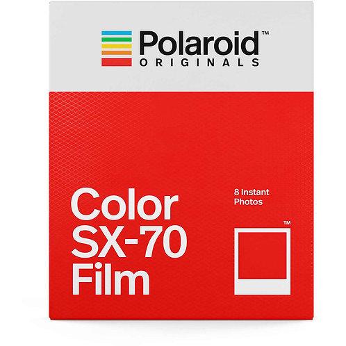 Polaroid Color SX-70 Instant Film (8 Exposures)