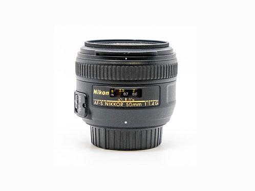 Nikon AF-S NIKKOR 50mm f/1.4G Lens (PDX)