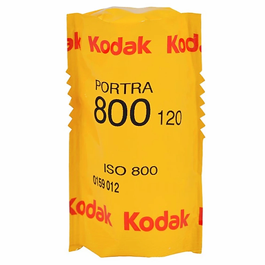 Kodak Portra 800 (120)