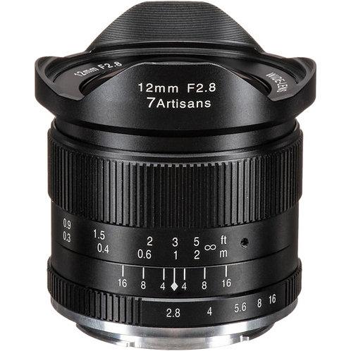 7artisans 12mm f/2.8 Lens for Sony E