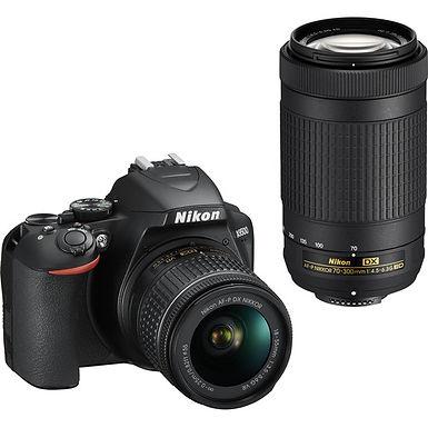 Nikon D3500 + AF-P 18-55mm VR + AF-P 70-300mm ED