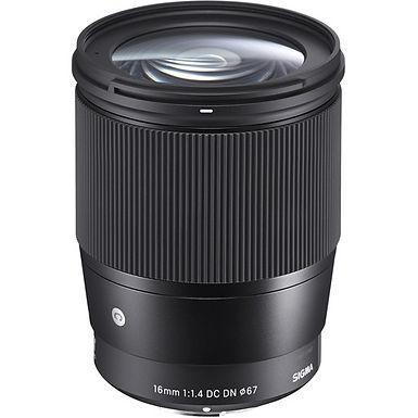 Sigma 16mm f/1.4 DC DN Contemporary Lens (Sony E)