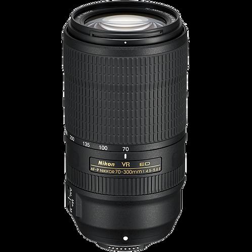 Nikon AF-P DX NIKKOR 70-300mm f/4.5-6.3E ED VR