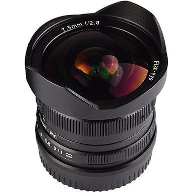 7artisans 7.5mm f/2.8 Fisheye Lens for Sony E