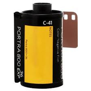 Kodak Portra 800 (1 roll)