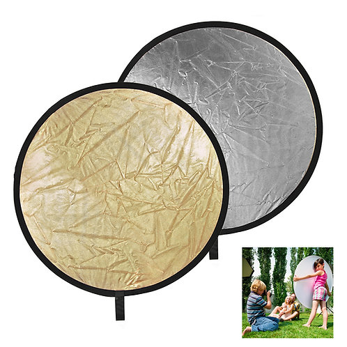 """Promaster SystemPro 12"""" Silver/Gold Reflector"""
