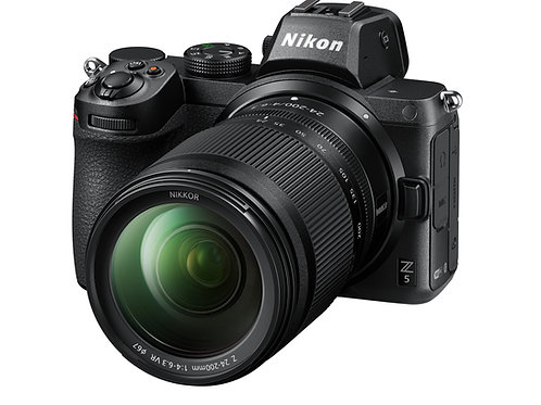 Nikon Z 5 Mirrorless Digital Camera with 24-200mm Lens