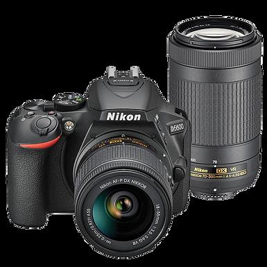 Nikon D5600 AF-P 18-55mm VR + AF-P 70-300mm ED