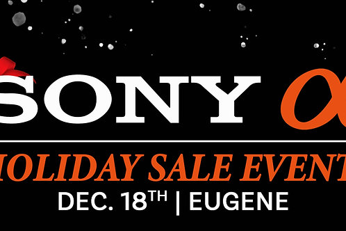 Sony Holiday Sales Event 12/18 | Eugene