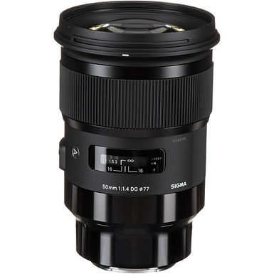 Sigma 50mm f/1.4 DG HSM Art Lens (Sony E)