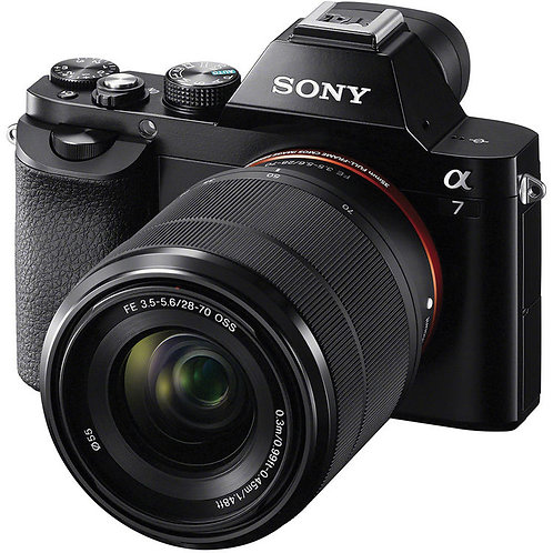 Sony Alpha 7 II Kit with FE 28-70mm f/3.5-5.6 OSS Lens