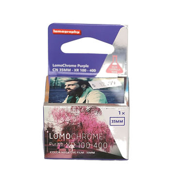 Lomography Purple 100-400 (1 roll)
