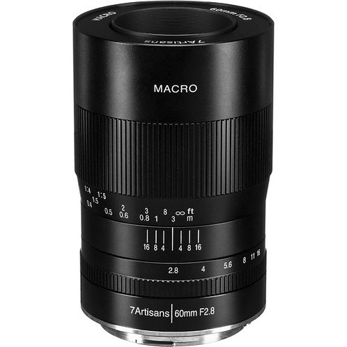 7artisans 60mm f/2.8 Macro Lens for Canon RF