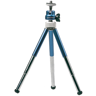 Promaster TRM-3 Mini Tripod (Blue or Red)