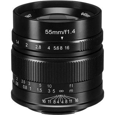 7artisans 55mm f/1.4 Lens for Fujifilm X