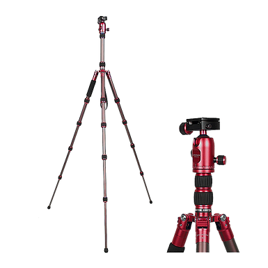 Promaster XC525 Tripod with Head (Red)