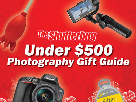 The Shutterbug's 2020 Gift Guide (Under $500)