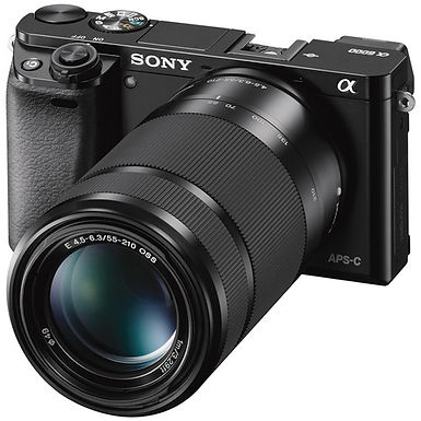 Sony Alpha A6000 Two-Lens Kit with 16-55mm & 55-210mm