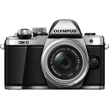 Olympus OM-D E-M10 Mark II 14-42mm R Kit (Silver)