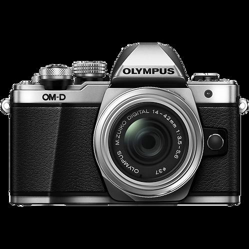 Olympus OM-D E-M10 Mark II 14-42mm R Kit (Silver)