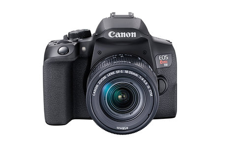 Canon EOS Rebel T8i DSLR Camera with 18-55mm Lens