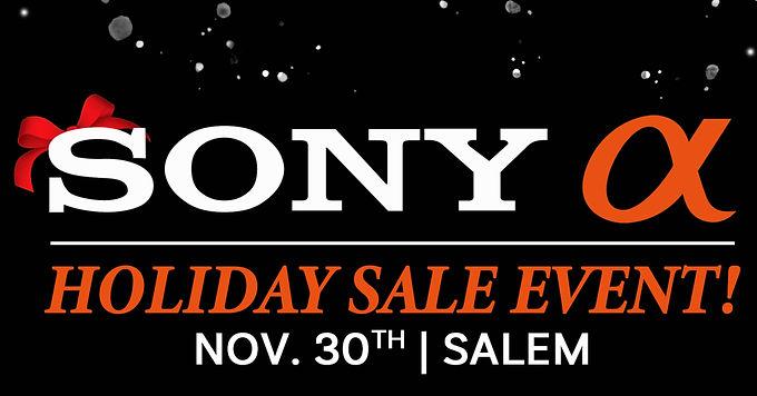 Sony Holiday Sales Event 11/30 | Salem