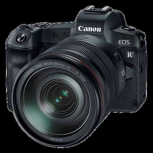 Canon EOS R Full-Frame Mirrorless + RF 24-105mm f/4L IS USM Lens