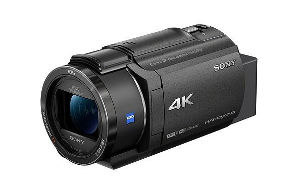 AX43 4K Handycam® with Exmor R™ CMOS sensor