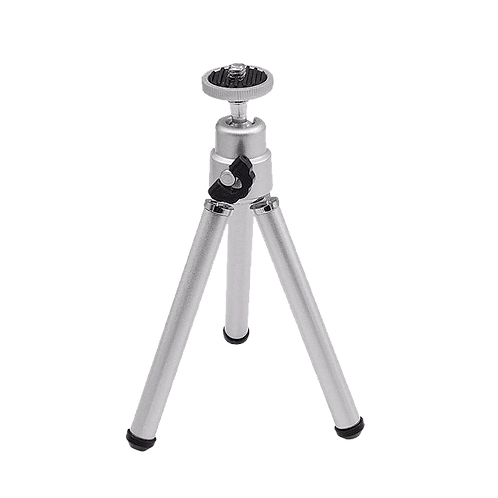 Compact Table Top Aluminum Tripod with Ball Head (Silver)