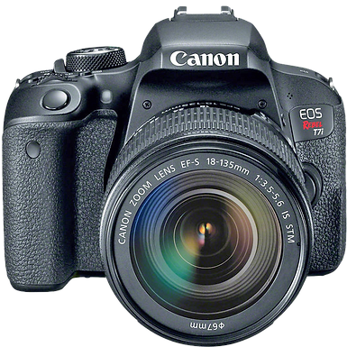 Canon EOS Rebel T7i 18-135mm IS STM